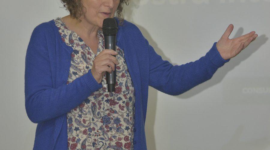 15:INTERVENCION DE GORETTI SANMARTIN NA APERTURA DA MOSTRA